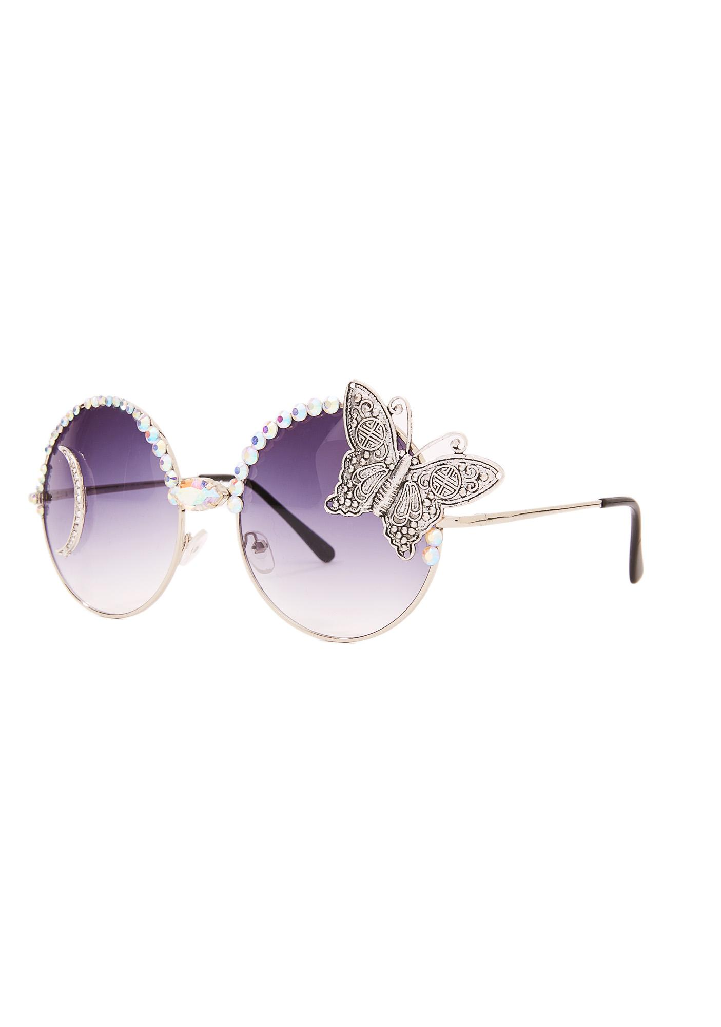 Rad and Refined Moonchild Sunglasses