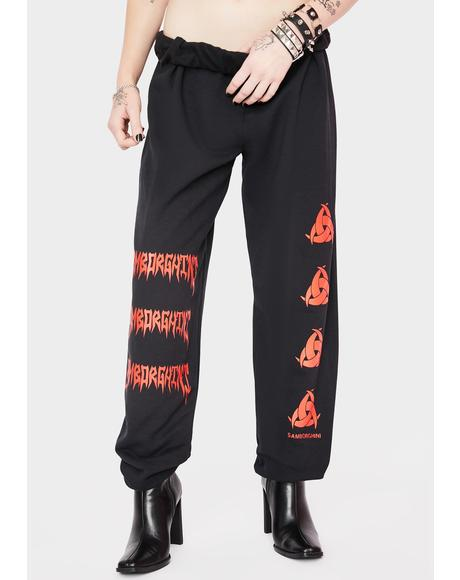 Metal Toxic Logo Sweatpants