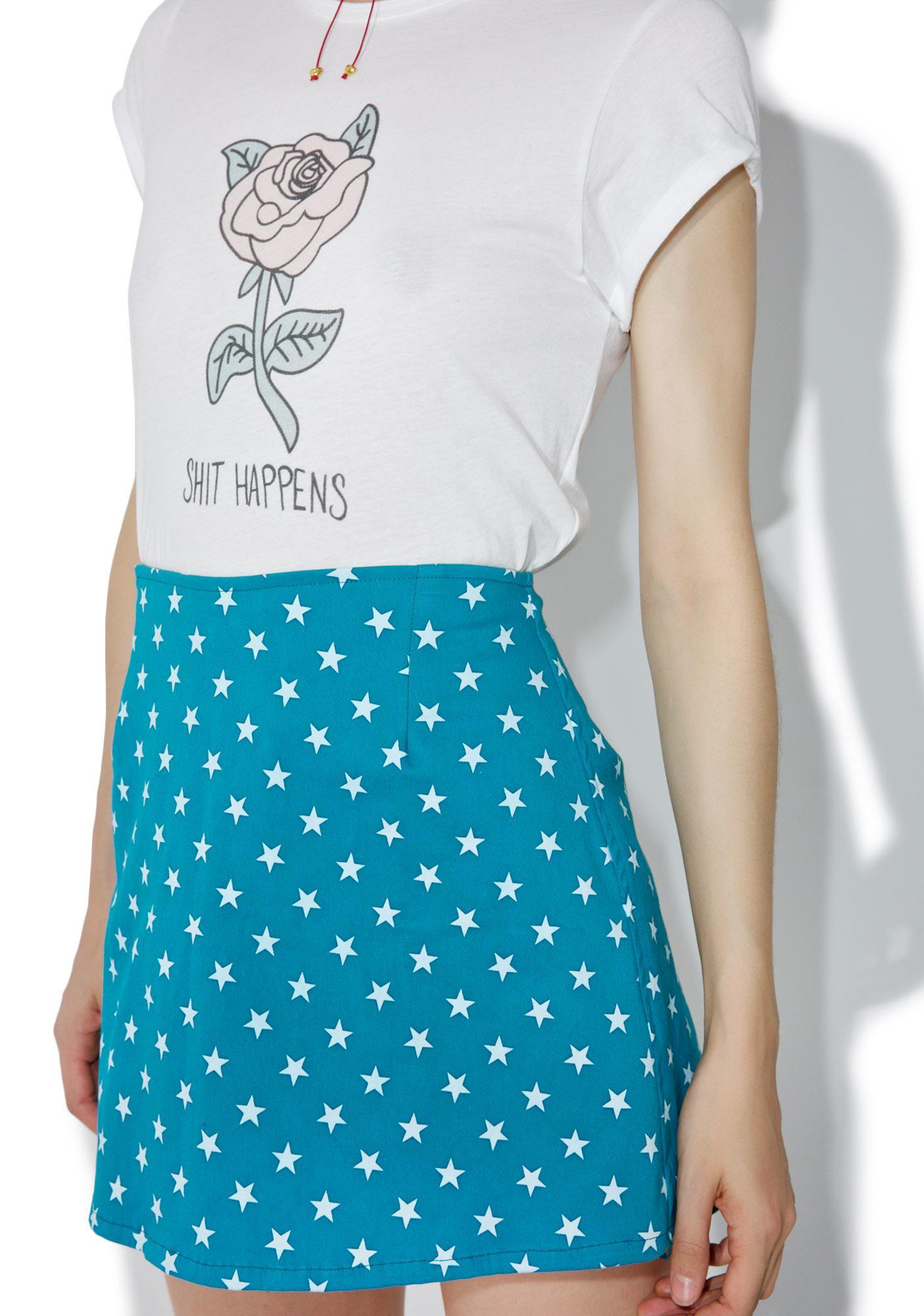 Motel Starry Annie Skirt