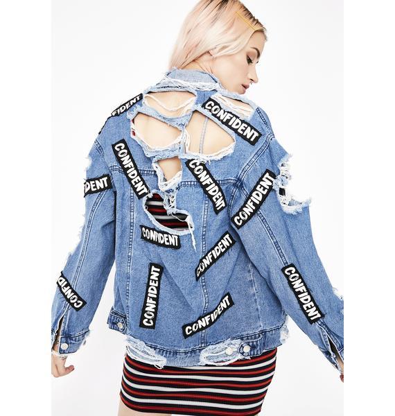 Stuntin' On 'Em Distressed Jacket