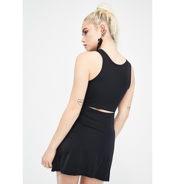 Babydol Clothing Enchained Lace-Up Mini Dress