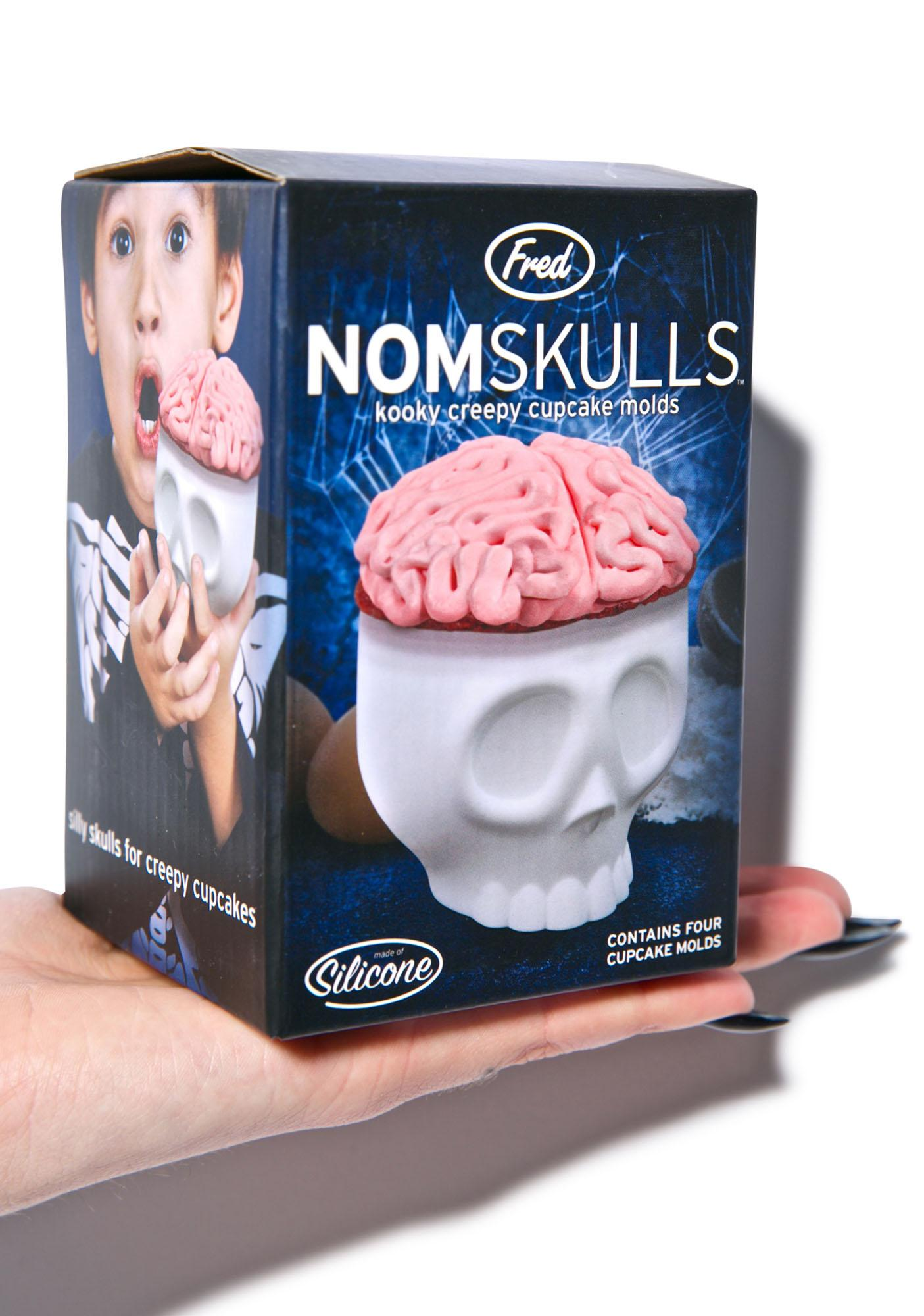 Nomskulls Cupcake Molds