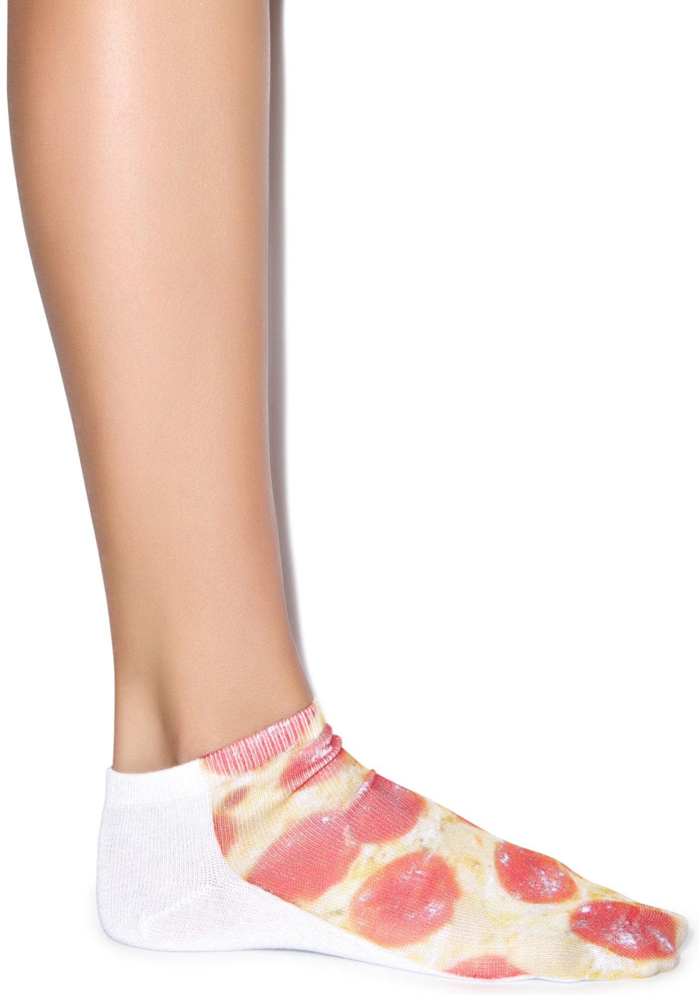 Pizza My Mind Ankle Socks