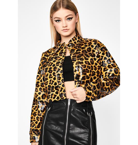 Rowdy Prowl Leopard Puffer