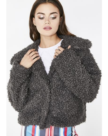 All The Cuddles Teddy Jacket