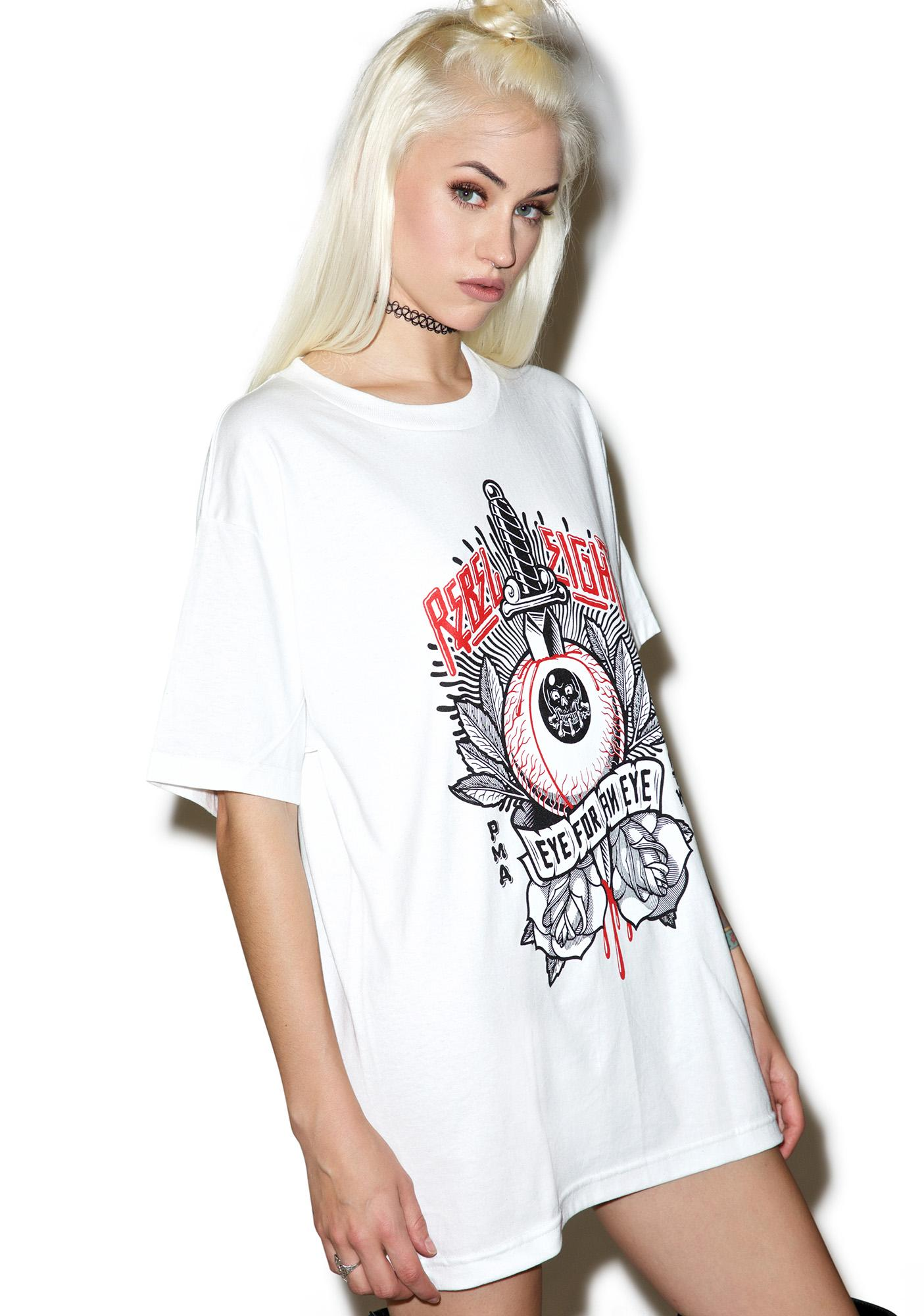 Rebel8 Eye For An Eye Tee