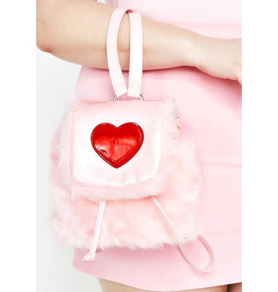 Sugar Thrillz At First Sight Fuzzy Backpack