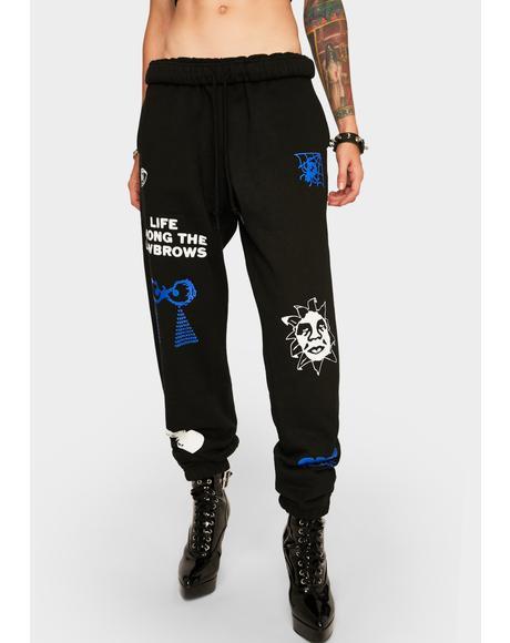 Chosen All Eyez Sweatpants