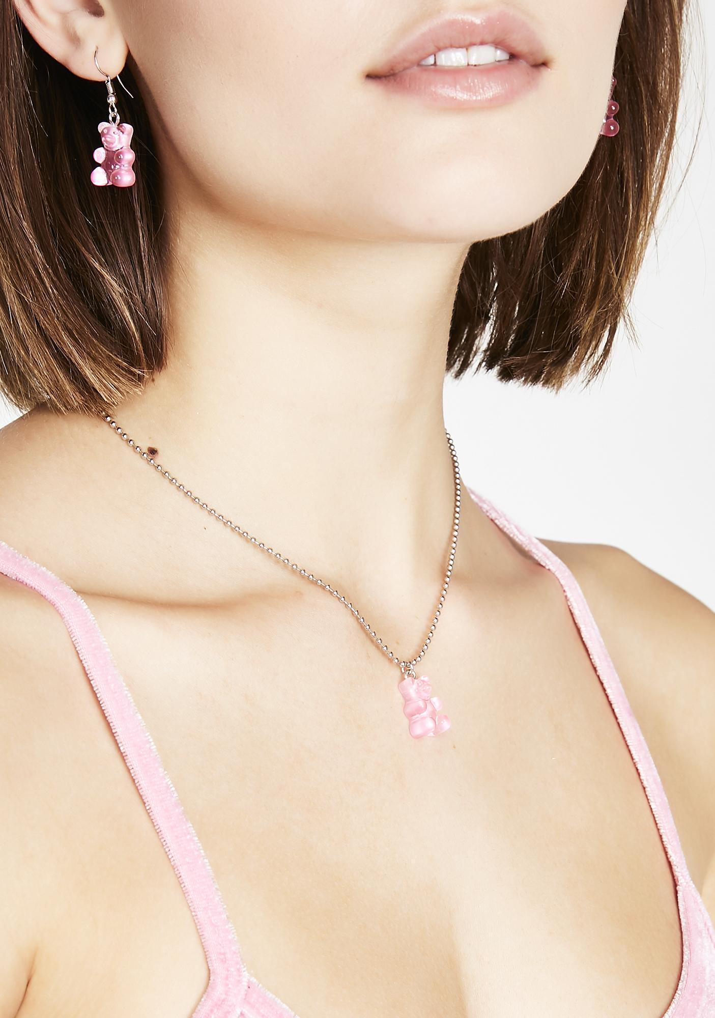 Sugar Fix Gummy Bear Necklace