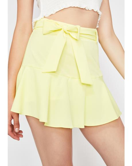 Sour Cute Confessions Mini Skirt