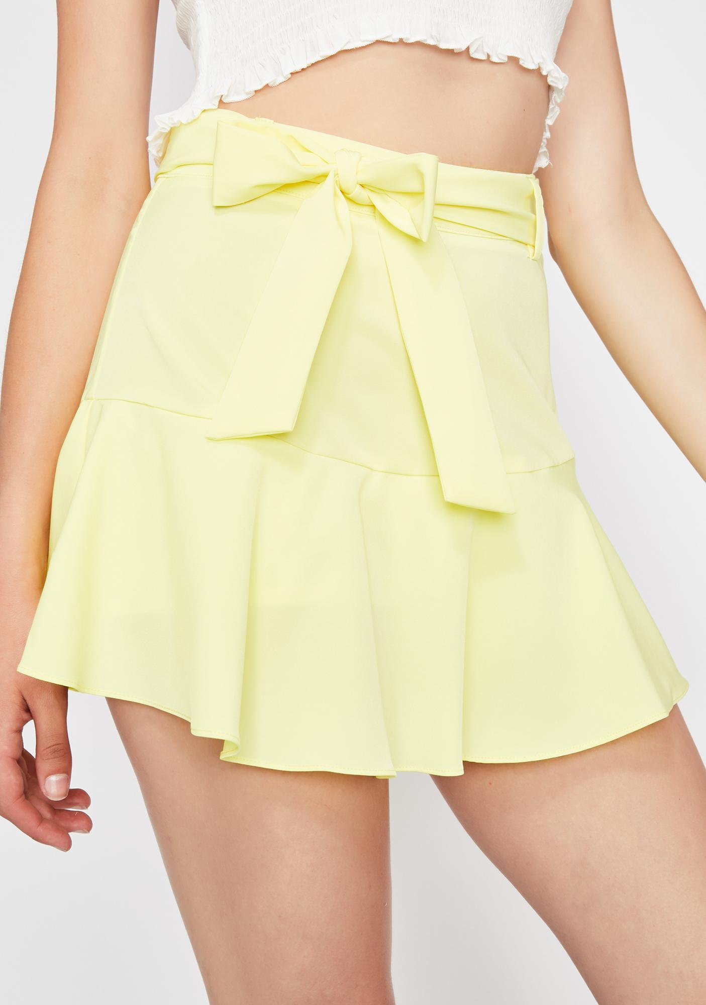 Sour Cute Confessions Mini Skirt