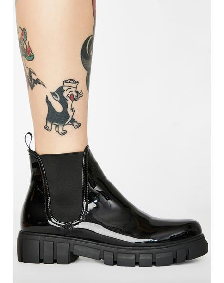 Marine Chelsea Boots