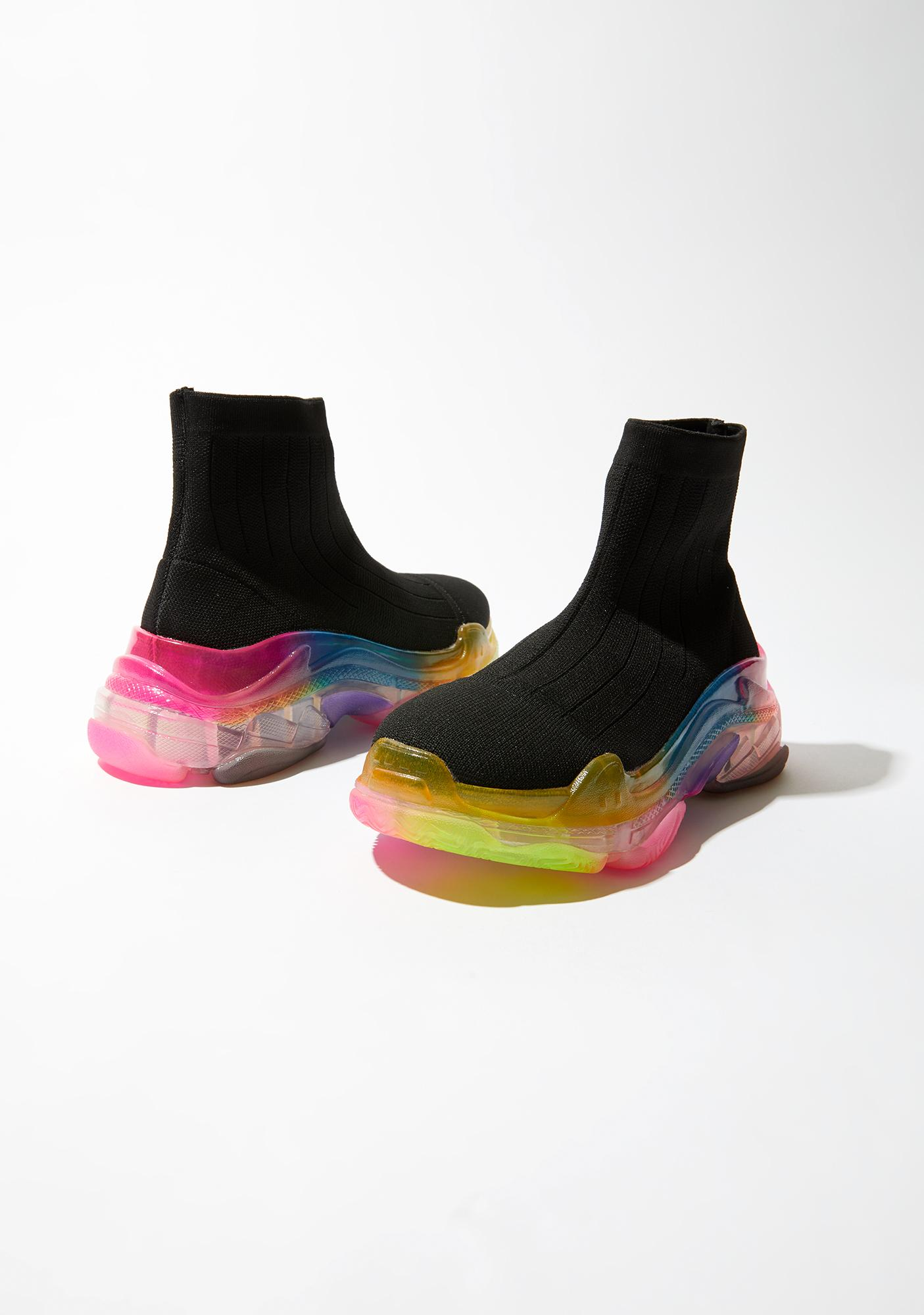 Kick It Up Sock Sneakers