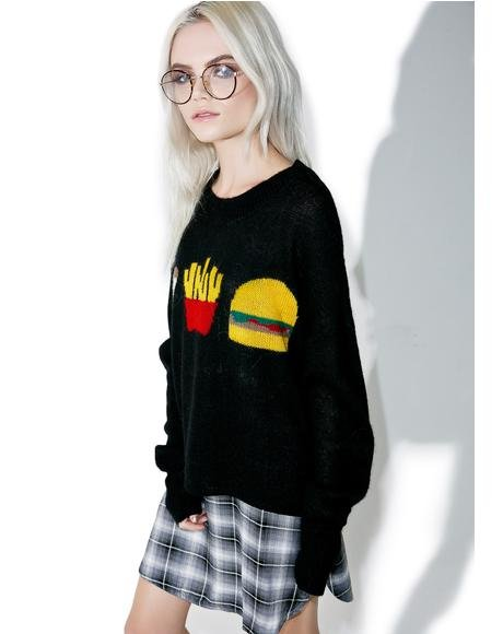 Fries With That Lunchtime Sweater