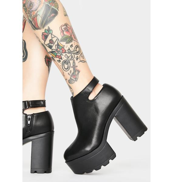 Just A Distraction Platform Boots