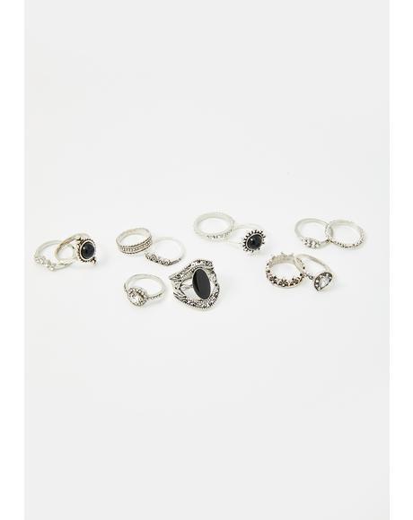 Seven Wonders Ring Set