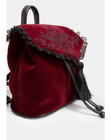 Scarlet Shadow Wanderer Mini Backpack