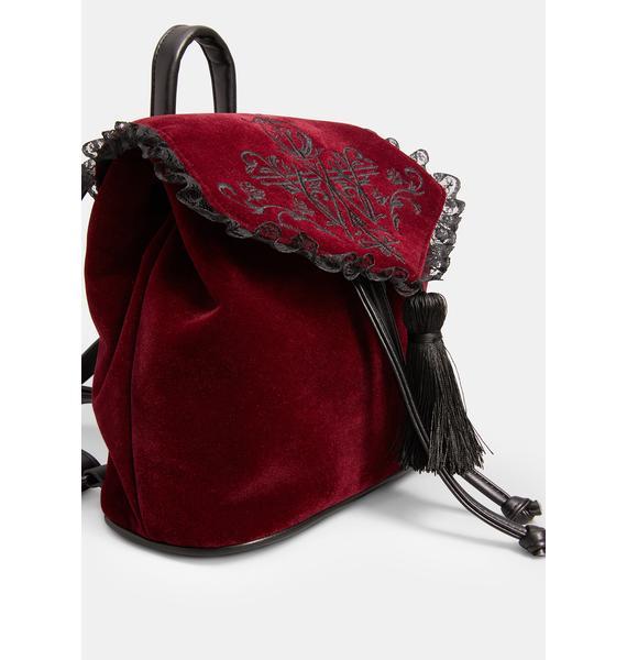 Widow Scarlet Shadow Wanderer Mini Backpack