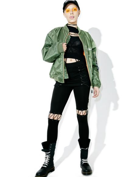 A Different Story Lace-Up Pants