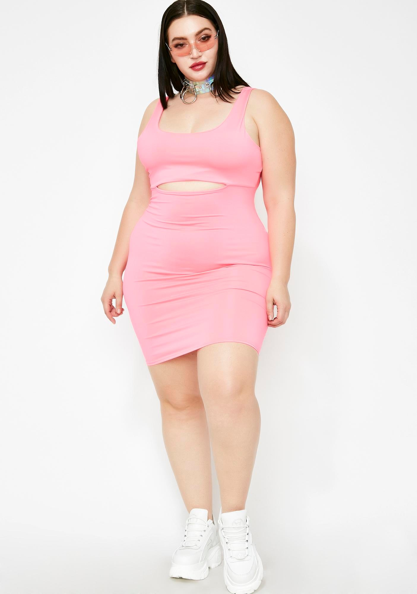 Miss Do A Double Take Bodycon Dress