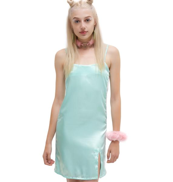 O Mighty Silk Kitten Dress