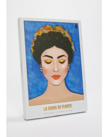 La Dama De Flores Mini Eyeshadow Palette