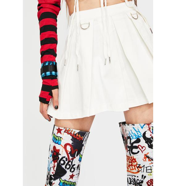 Current Mood Perfect Escape Mini Skirt