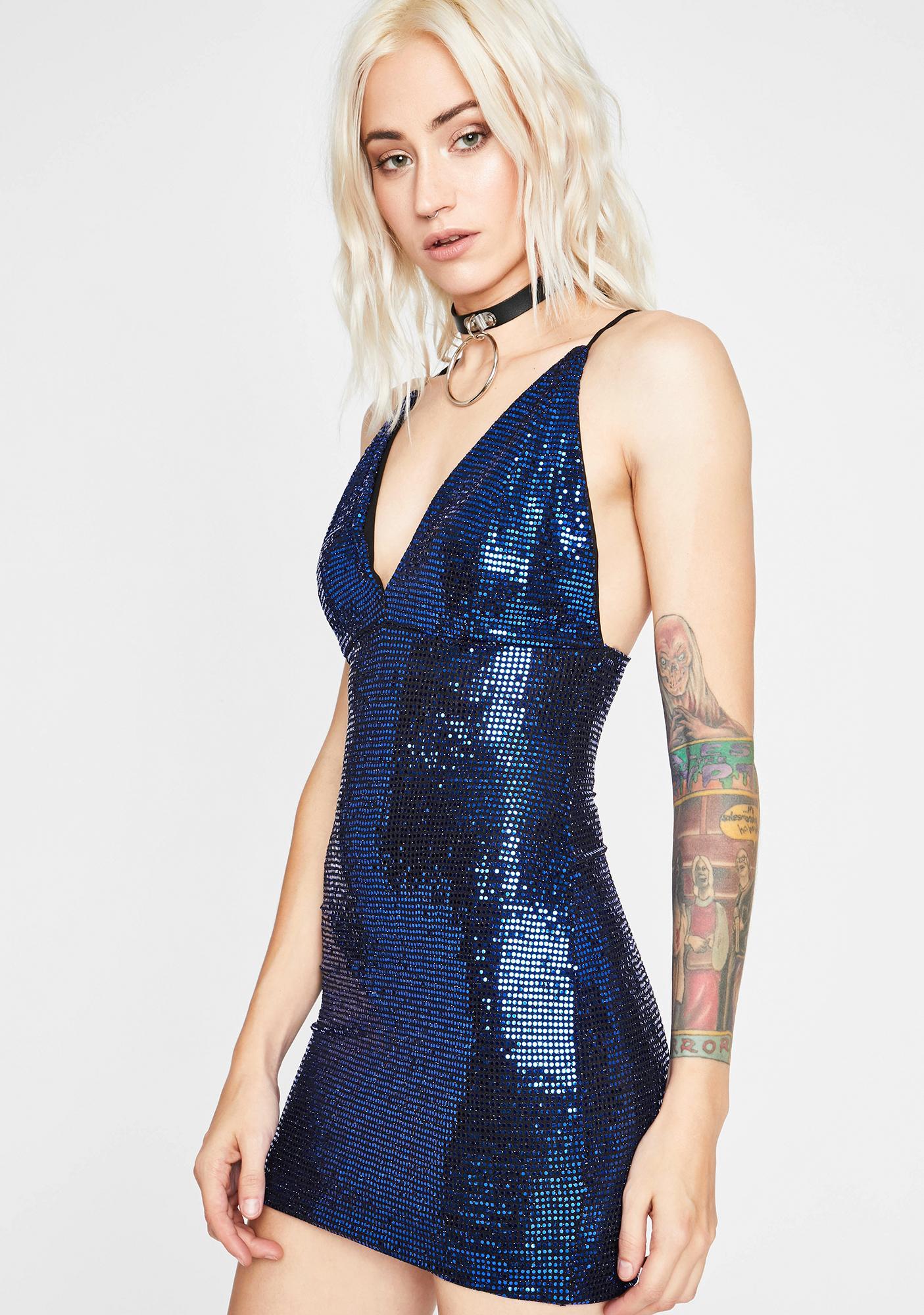 Lost In The Stars Sequin Dress