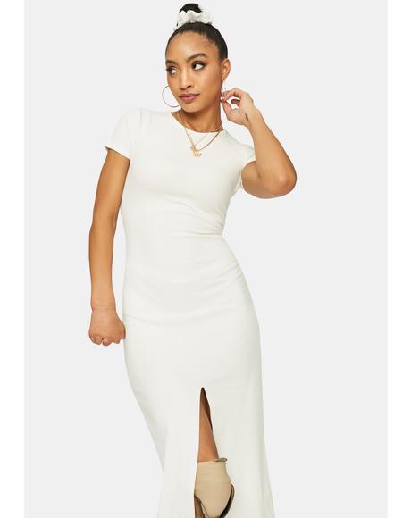 More Or Less Ribbed Maxi Dress