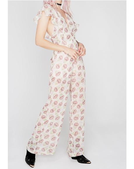 What In Carnation Jumpsuit