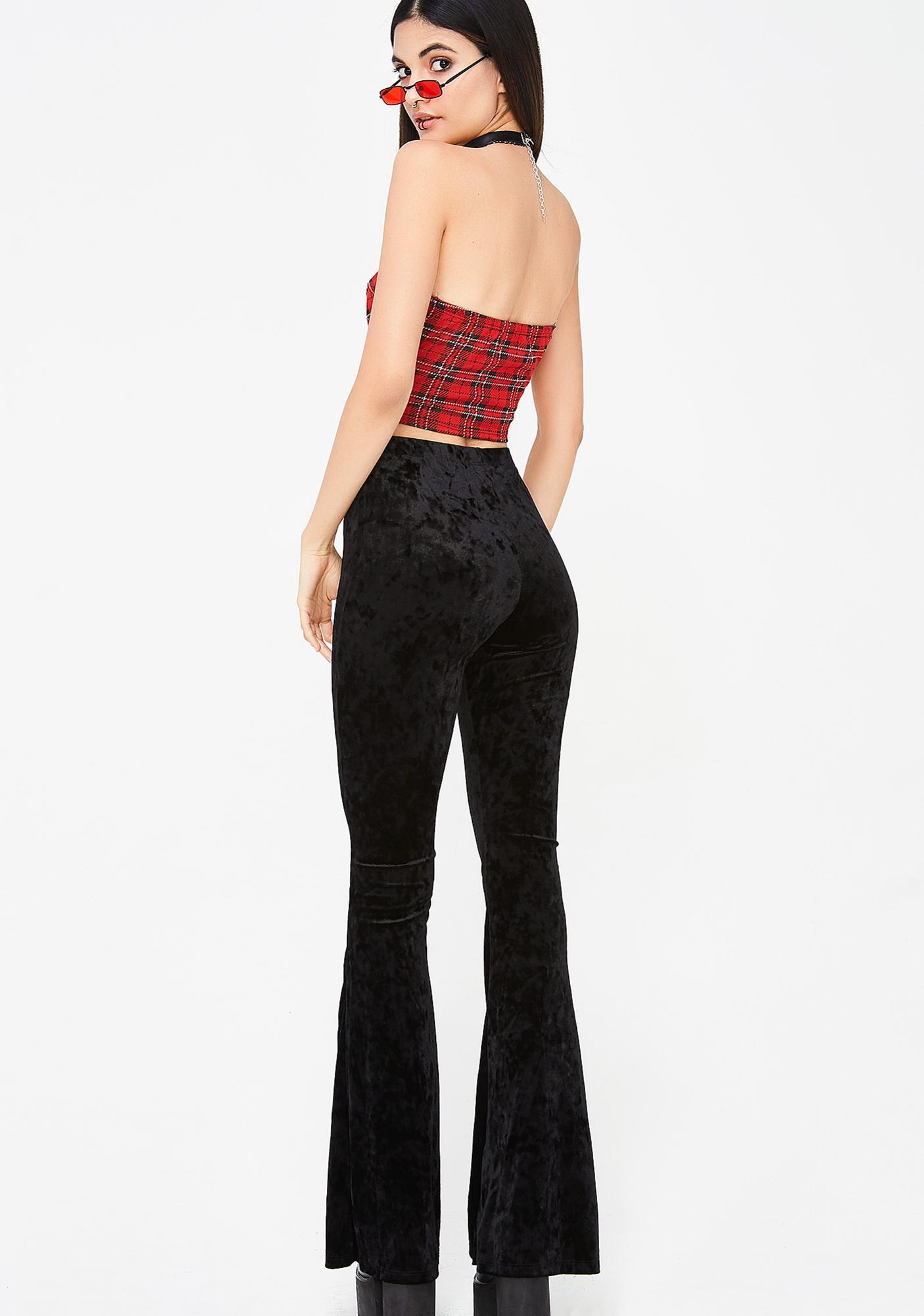 Ink Groovy BB Velvet Pants