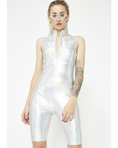 Cosmic Gamez Hologram Romper