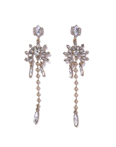 Golden Gurl Rhinestone Earrings