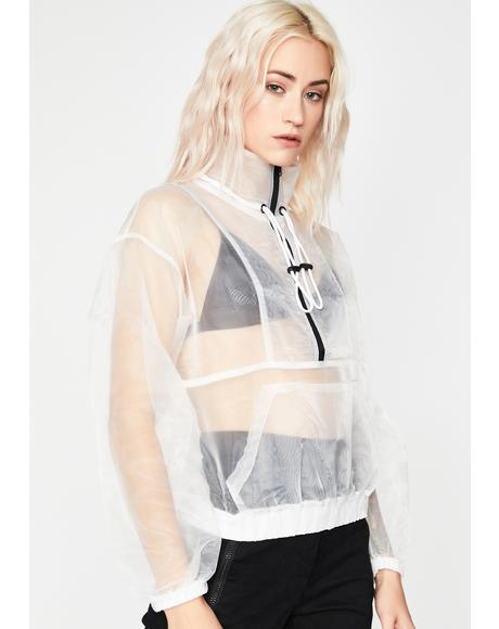 Pure Tabloid Takeover Sheer Pullover