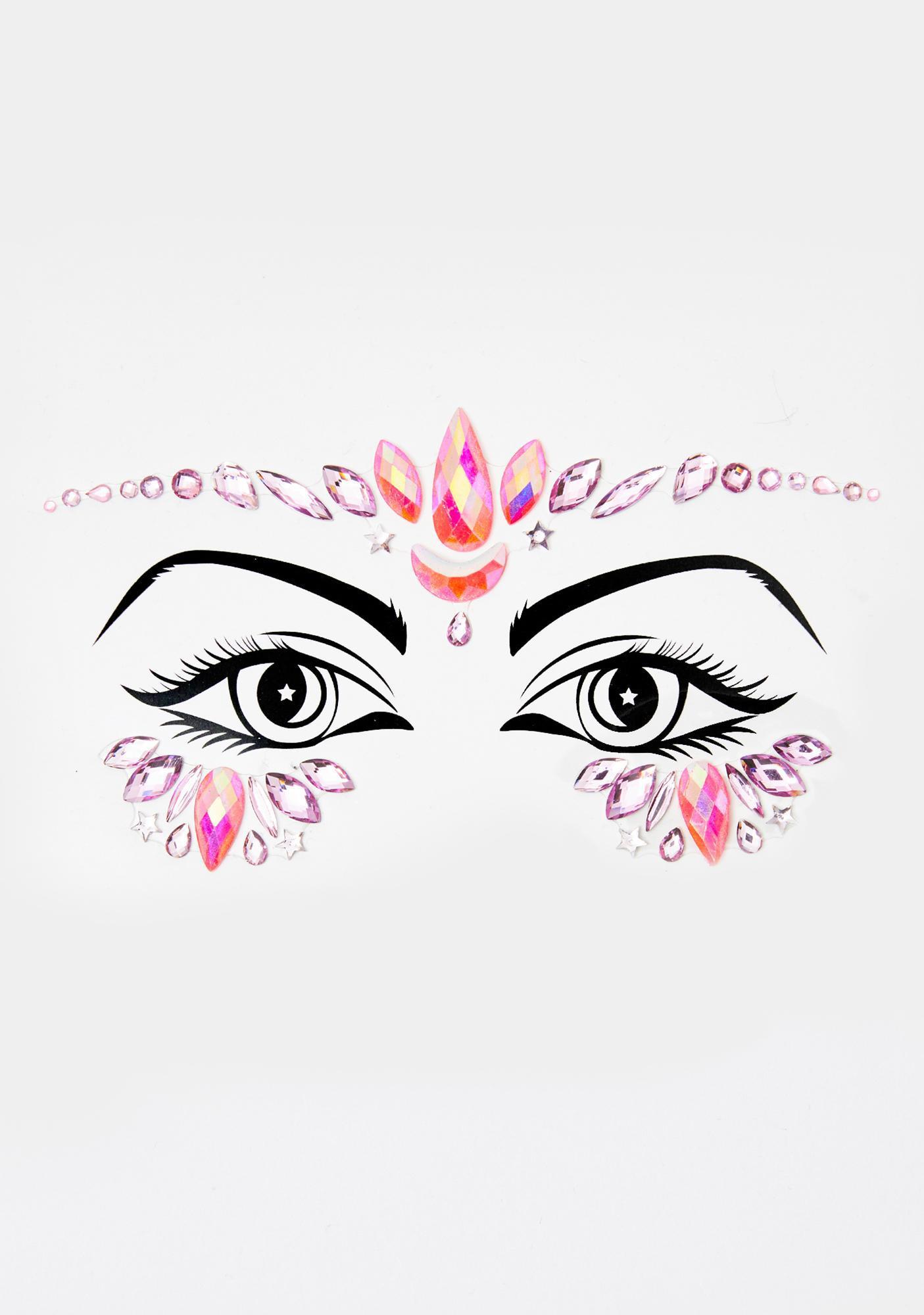 Lunautics Manifest Love Face Gems