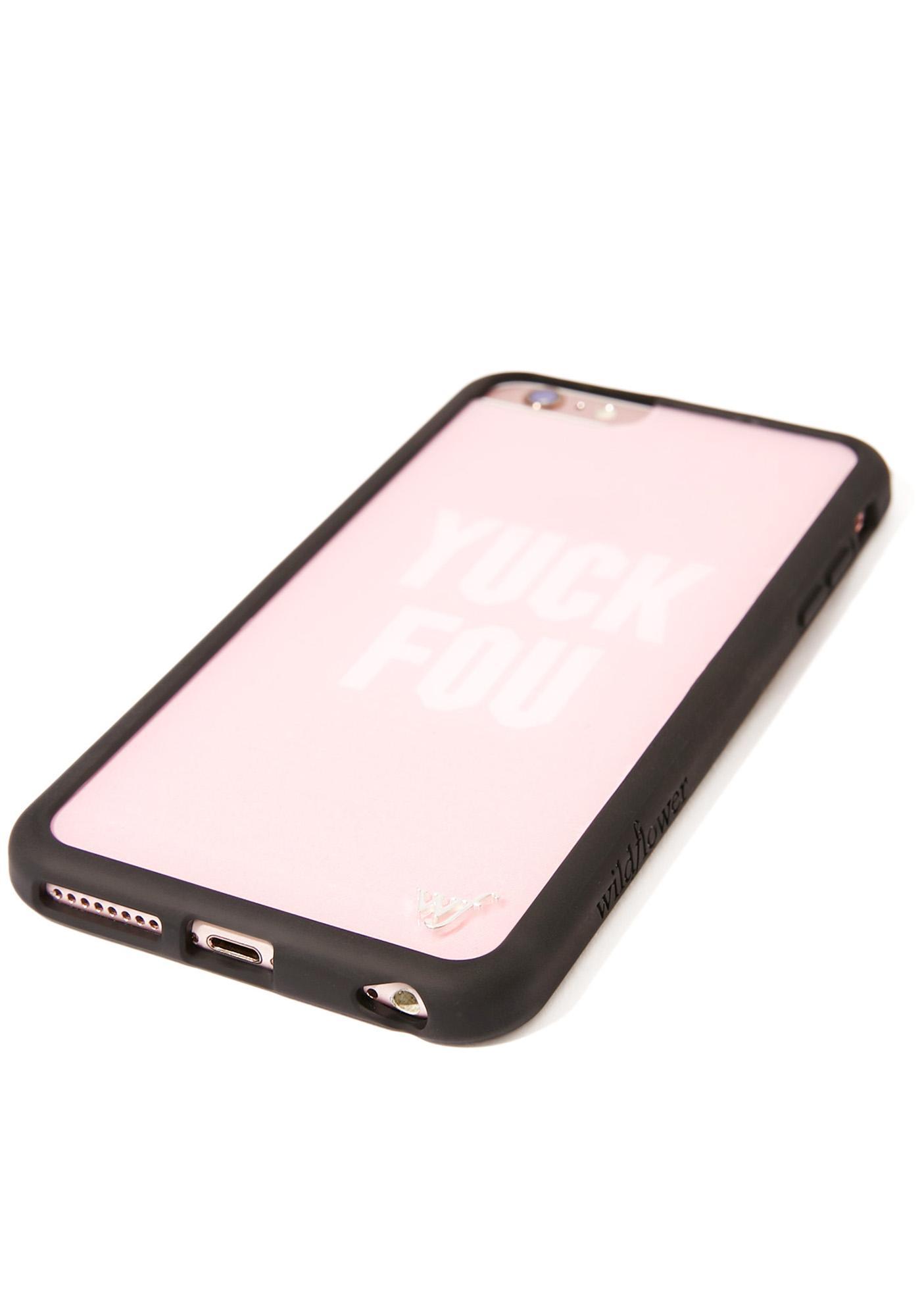 Wildflower Yuck Fou iPhone Case
