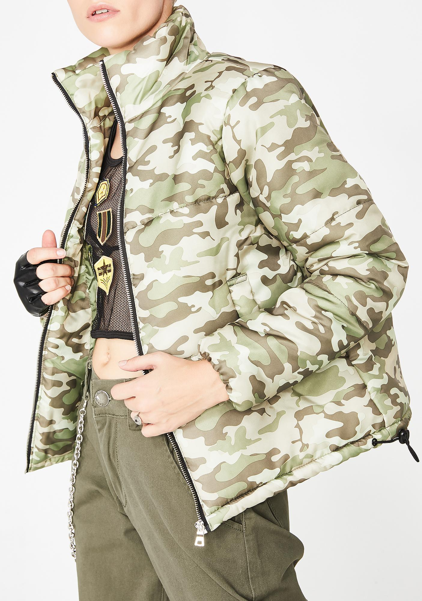 Conceal N Carry Camo Jacket