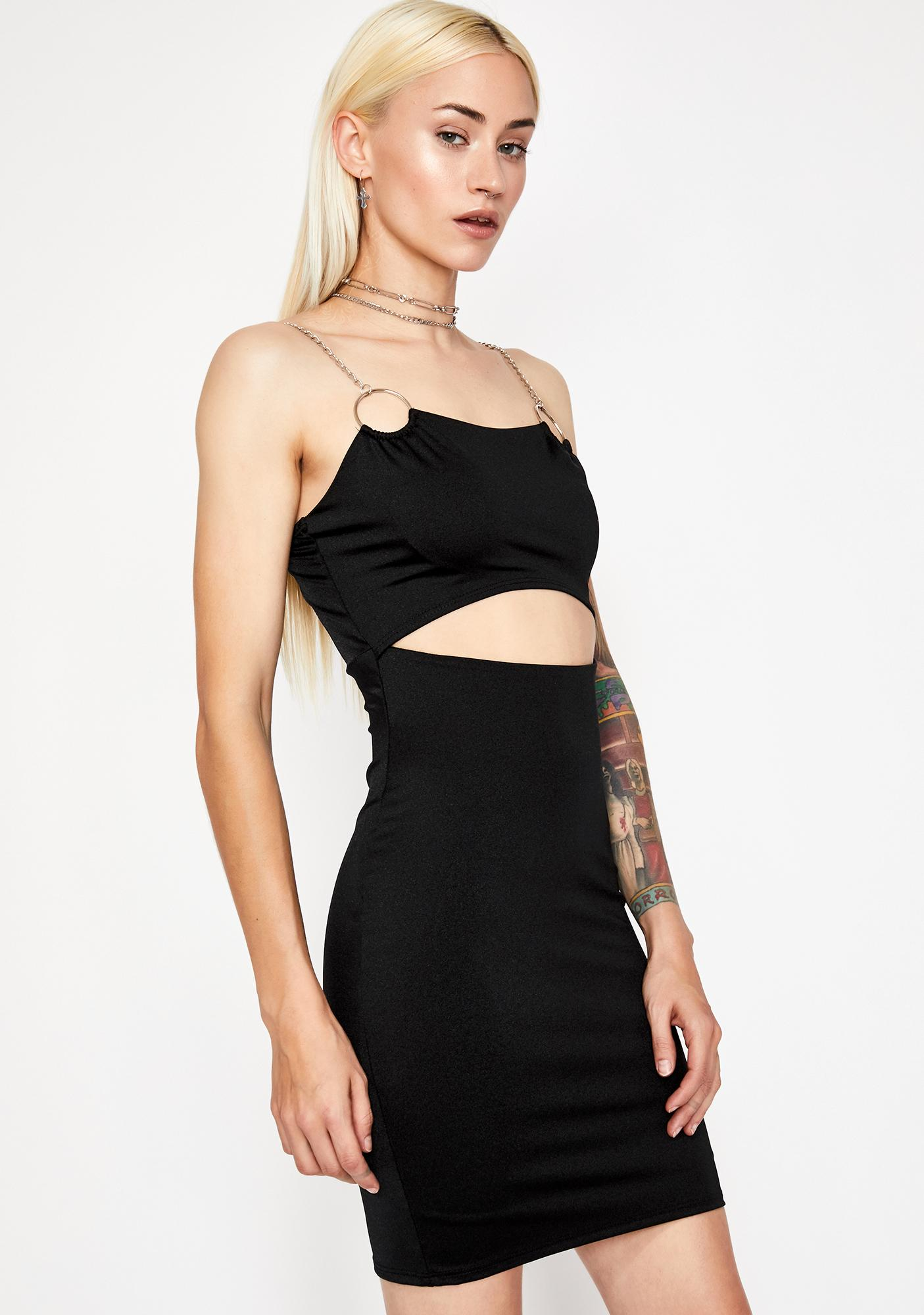 Tragic Party Gal Cut Out Dress