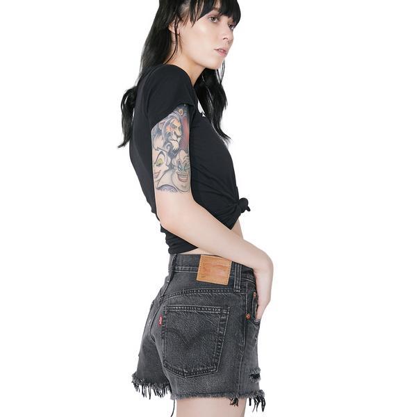 Levis Onyx 501 Shorts