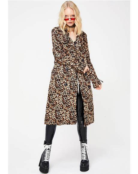 Fierce N' Frisky Trench Coat