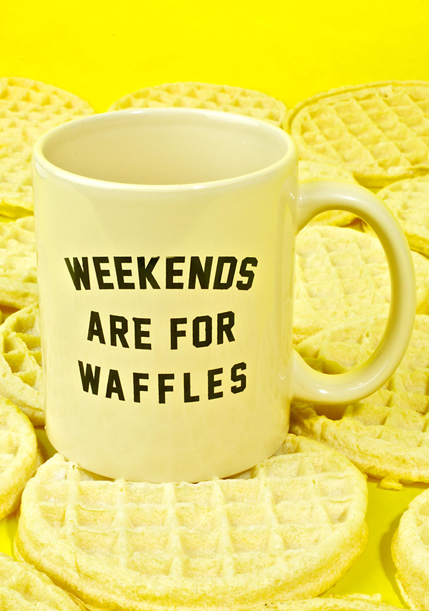 Weekend Waffle Mug