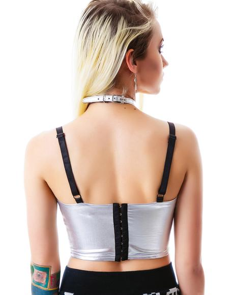 Into The Future Bustier Top