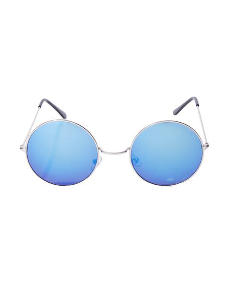 Blue Mathilda Sunglasses