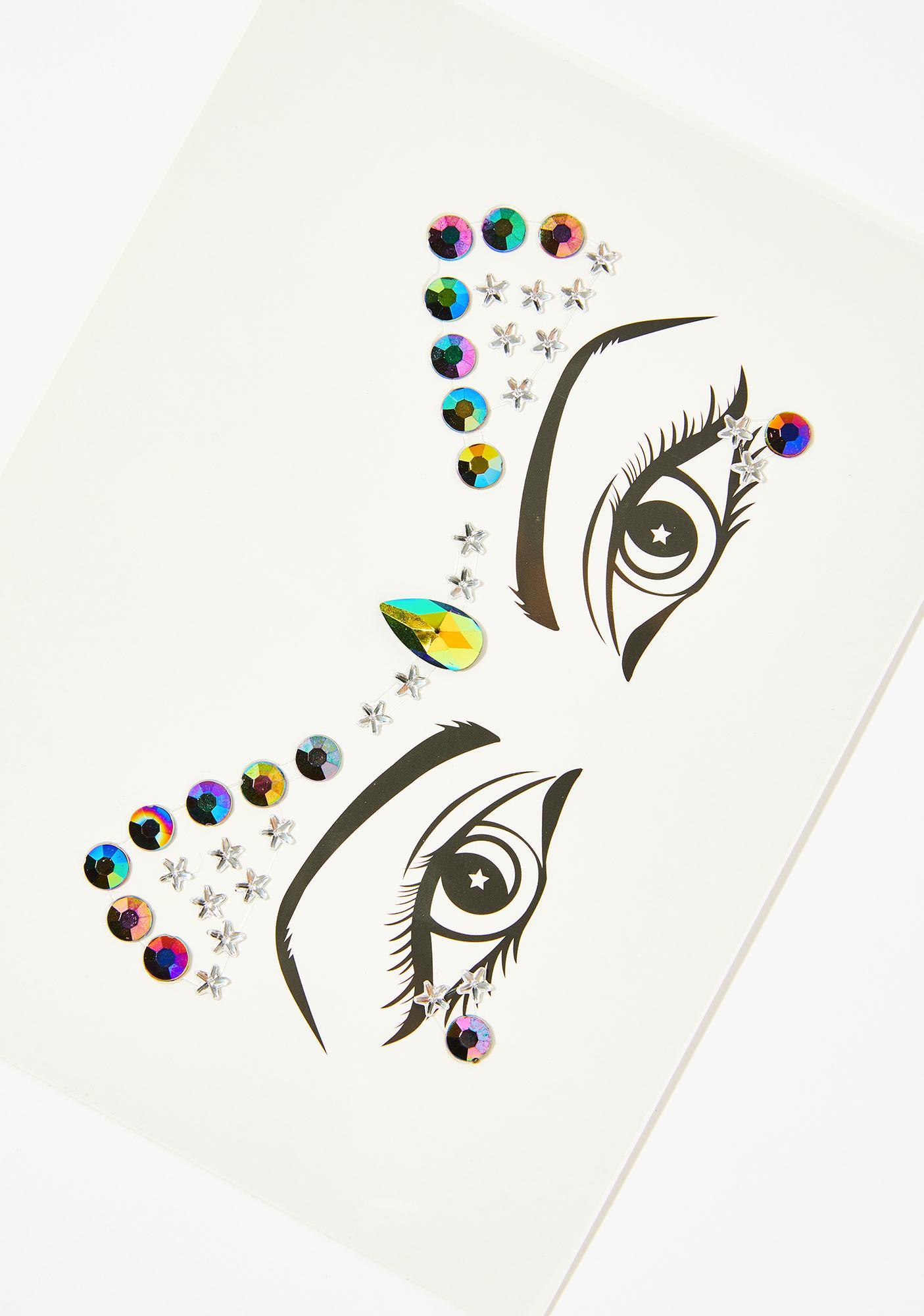 Lunautics Divinity Cosmic Face Crystals