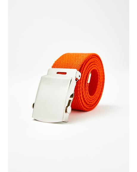 Street Tactics Canvas Belt