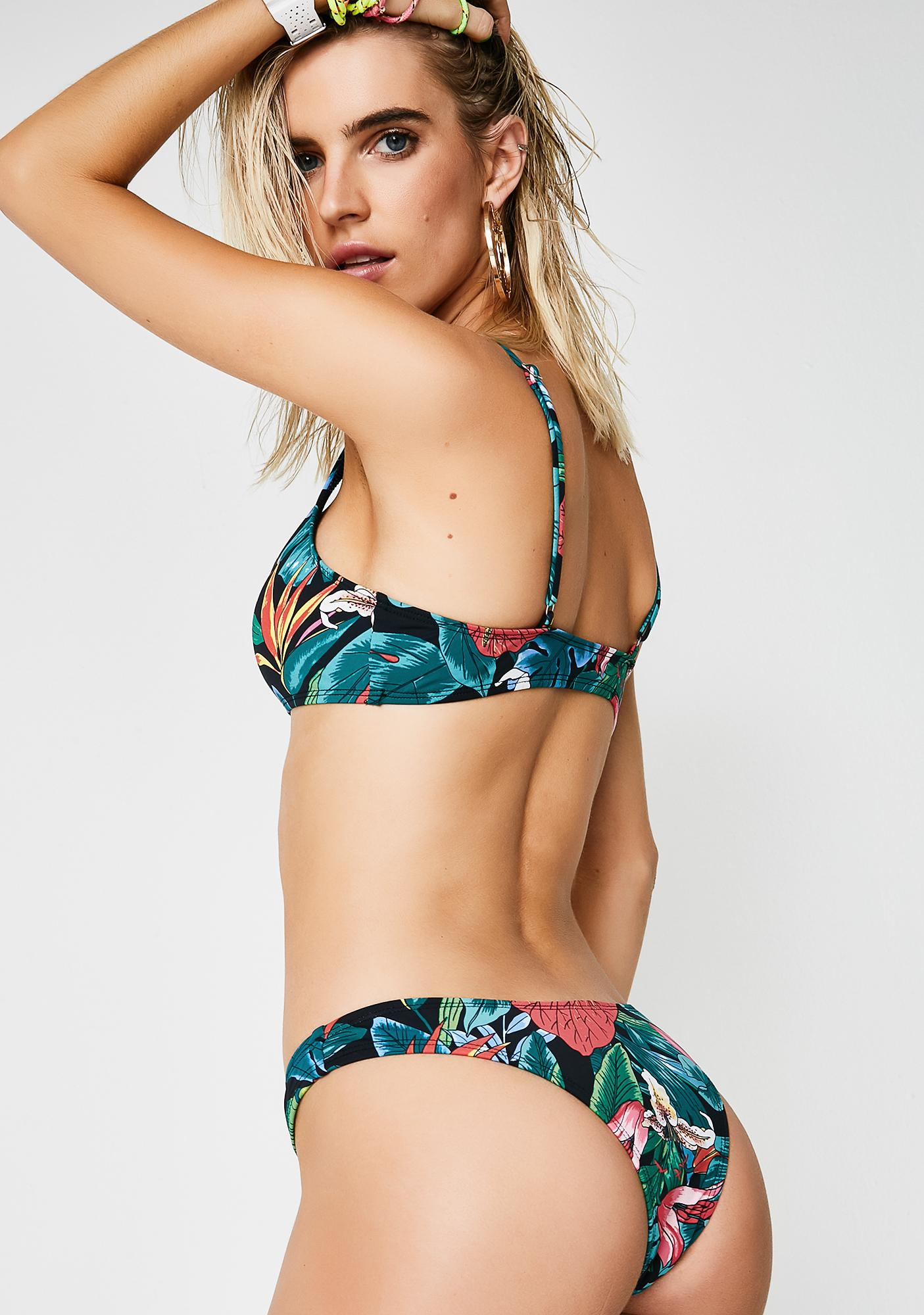 Floral Nostalgia Bikini Bottoms