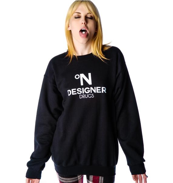 Petals and Peacocks Designer Sweatshirt