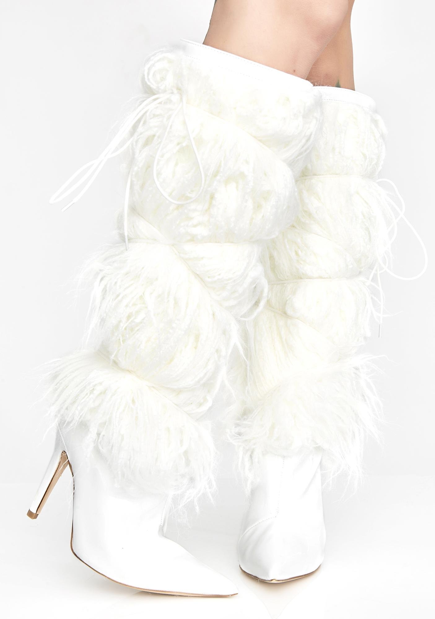 Snow Diva Hustle Fuzzy Boots