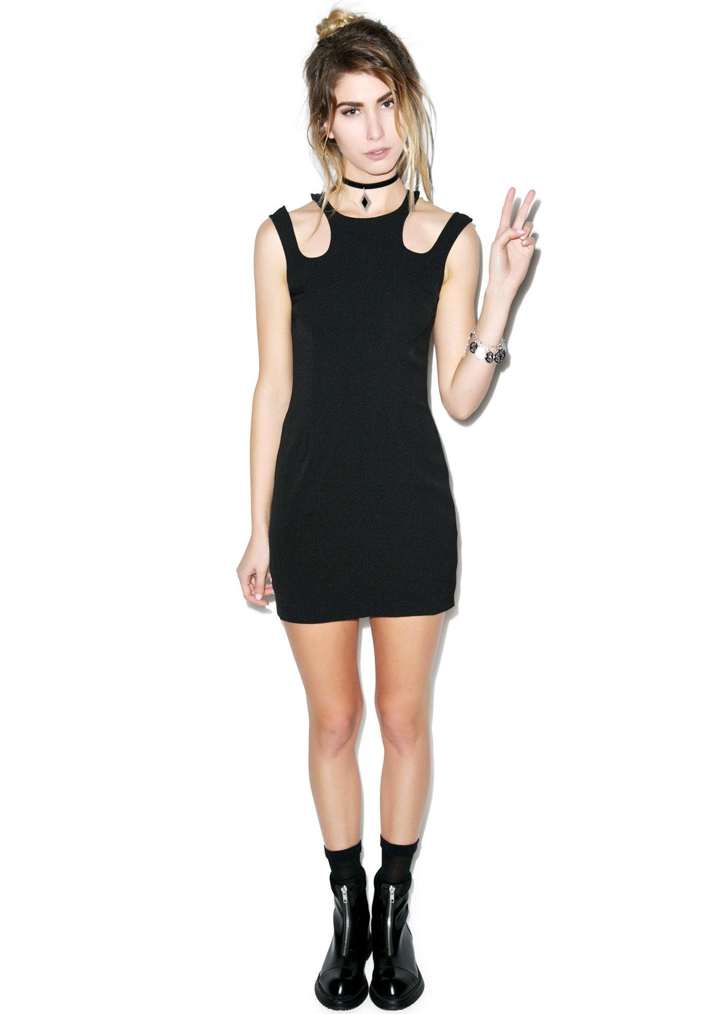 Mink Pink Phantom Song Dress
