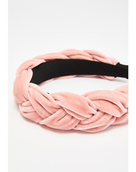 Miss Blair Velvet Braid Headband